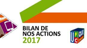 Bilan de nos actions en 2017…